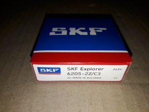 Подшипник SKF 205 (6205 ZZ) (25*52*15)